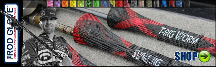 Rod glove fishing rod sleeves outdoor products pinterest for Fishing pole sleeves