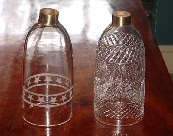 Price Glover, Inc.   Hand Blown Glass Shades