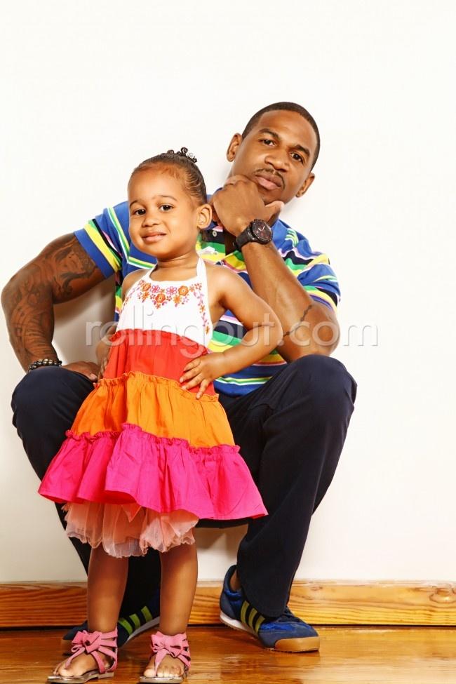 Stevie J. & daughter Eva