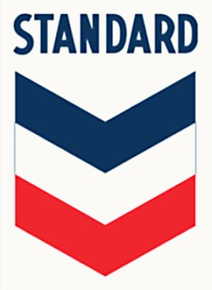 Oil Company Logos | and Standard Oil Company (California) the now familiar Chevron logo ...