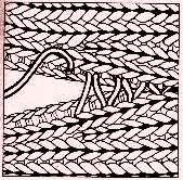 Technika pletení, pletení, sešívání pleteniny, čalounický steh, pletací steh…