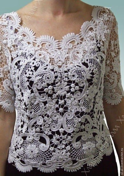 Irish crochet &: Irish lace by Alla Khlavnovich