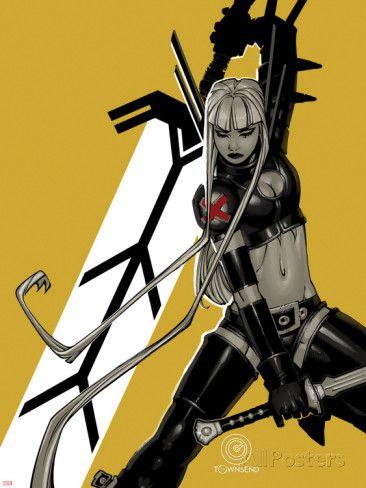 Uncanny X-Men #4 Cover: Magik Poster van Chris Bachalo bij AllPosters.nl