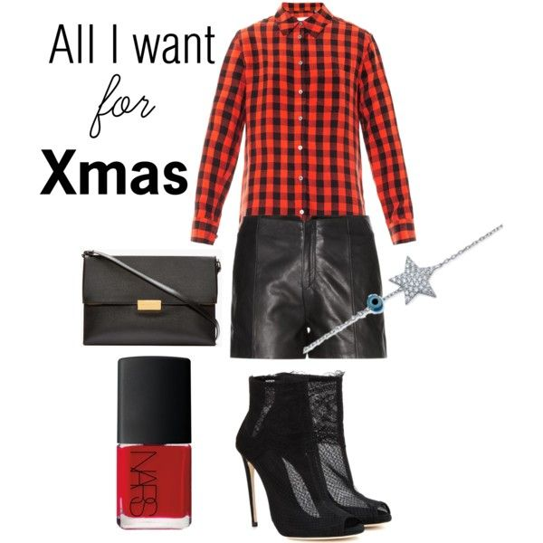 """""""stars, plaid and leather"""" by susie1971 on Polyvore"""