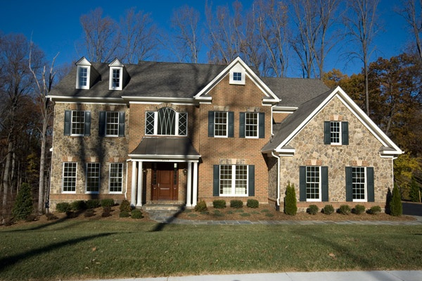65 best images about elegant exteriors on pinterest for Custom brick homes