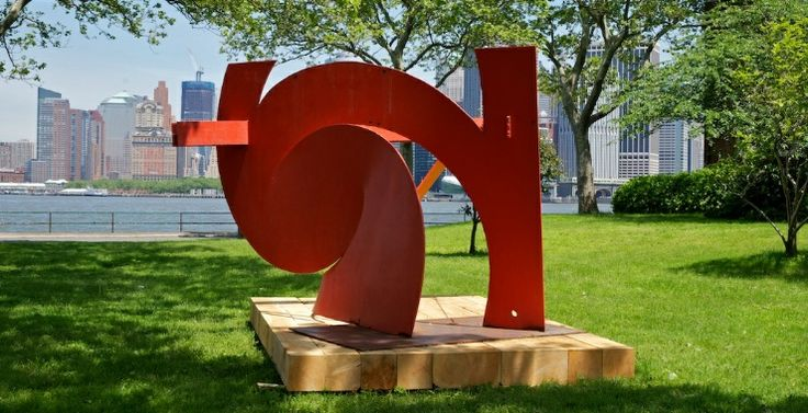 Mark di Suvero at Governors Island: Presented by Storm King Art Center