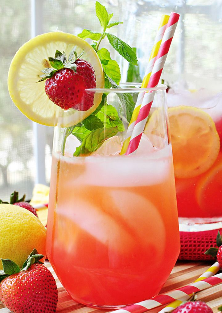 hese two great spiked lemonades will clench your mightiest thirst. What better time to enjoy a lemonade than in the hot sun or in the shade on a summer day!