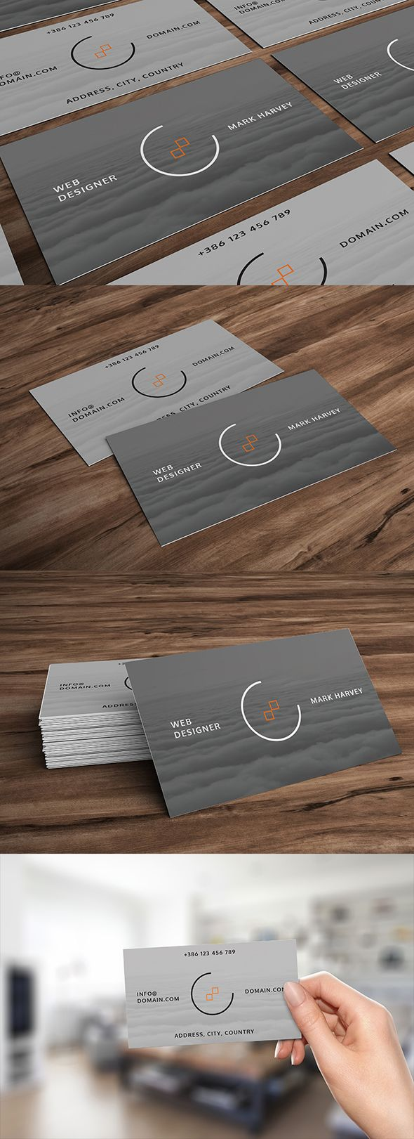 Simple and clean looking business card #design #graphicdesign #businesscard