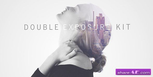 Videohive Double Exposure Kit - After Effects Templates