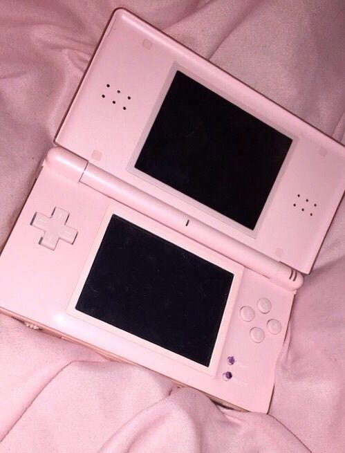 light pink, nintendo ds, pastel, pastel pink, pink, pink nintendo, nintendo dsi