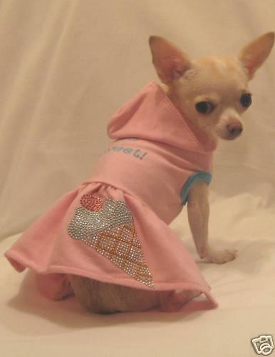 So Sweet Dog Dress/Dog Hoodie/Dog Clothes/Chihuahua/