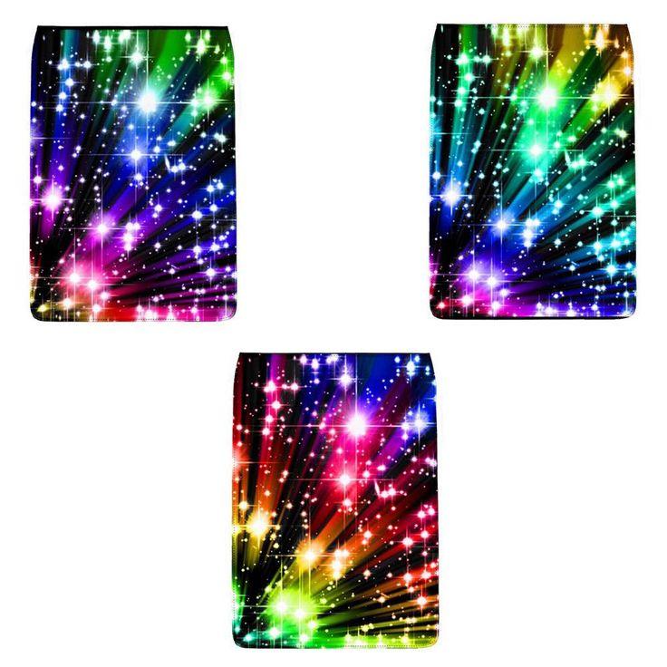 """""""Rainbow Stars"""" Removable Flap for Chameleon Shoulder Bag (Regular)"""