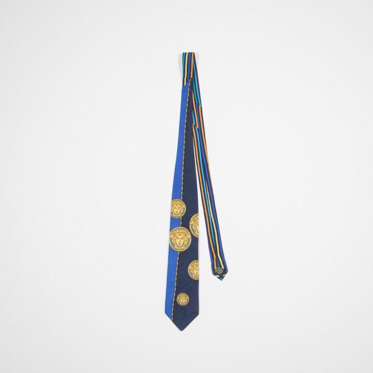 GIANNI VERSACE - cravatta in seta di MillesimeCollection su Etsy