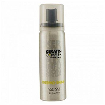 Thermo-shine 2.5 Oz Haircare By: Keratin Complex Review