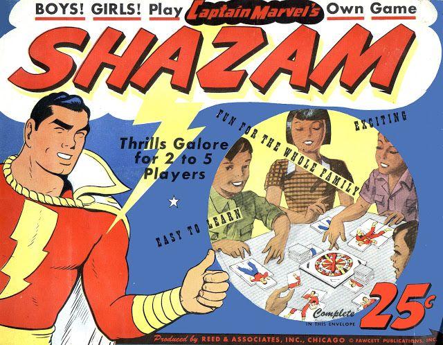 Captain Marvel cutouts! Shazam!   comic books comics