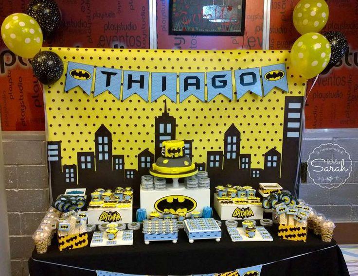 "BATMAN / Birthday ""BATMAN"" | Catch My Party"