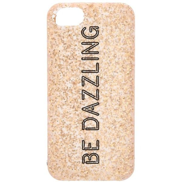 Kate Spade New York Be Dazzling Silicone Case for iPhone® 5 and 5s ($35) found on Polyvore