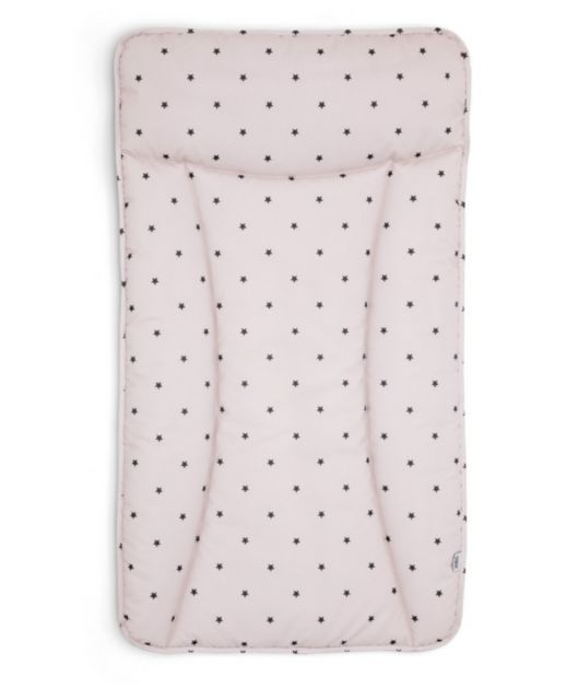 Essential Changing Mattress - Mini Pink Stars