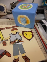 Armor of God game: roll box die, child answers question, if he is correct, add the piece of armor he rolled. Can make teams.