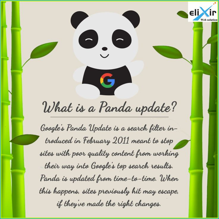 Significant drops in your website traffic?It could be #Google #PandaUpdate . This update hit low quality websites. To keep your website safe from future Panda updates you should use quality content.
