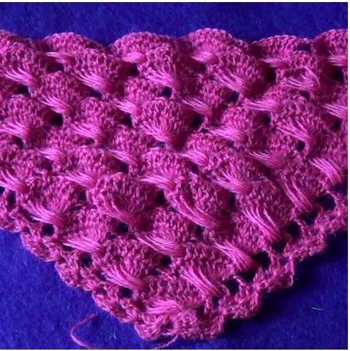 красивый узор для шали мастер класс шали вязание узоры для