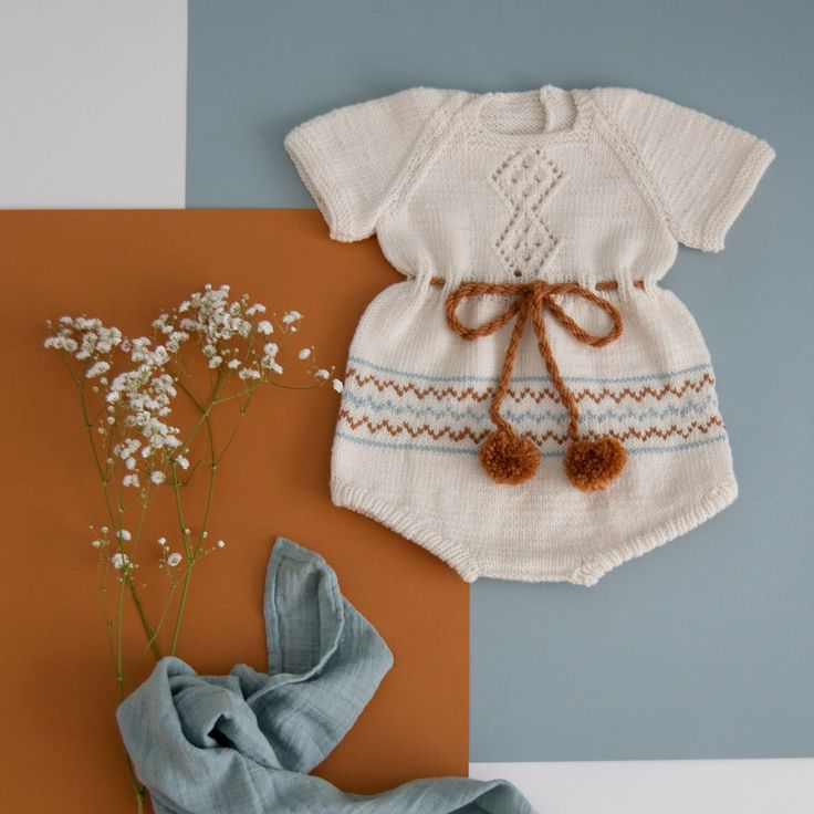 09274dfb2257 The product Romper  Tove  is sold by lillelovaknits in our Tictail store.  Tictail