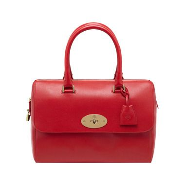 Mulberry+-+Del+Rey+in+Bright+Red+Shiny+Goat
