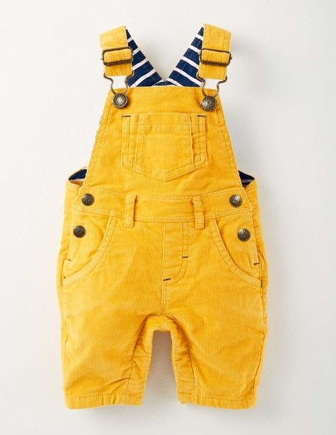 Classic Cord Dungarees 72168 Trousers at Boden