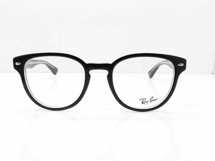 Eyeglass Frames For Over 50 : Eyeglasses for Women Over 50 ... Black Acetate Ray Ban ...