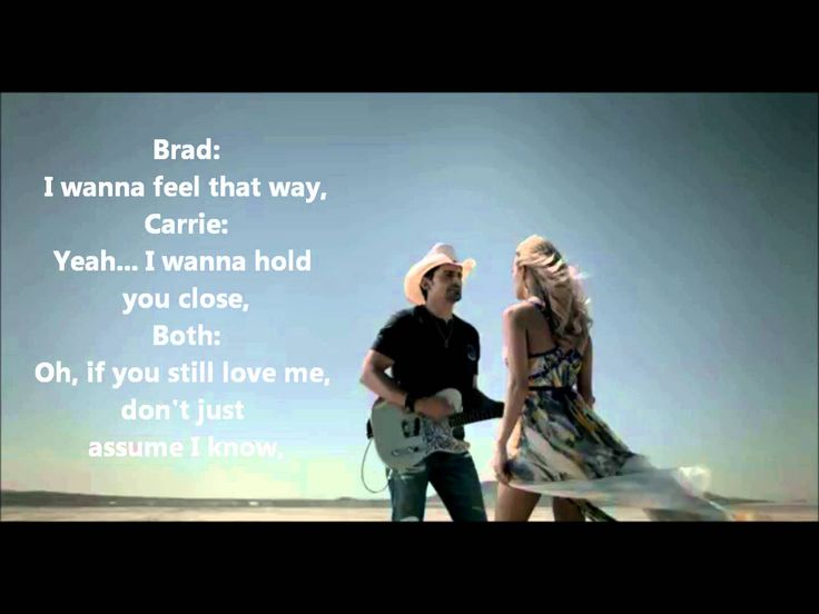 Remind Me - Brad Paisley (Duet with Carrie Underwood)