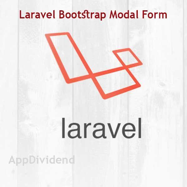 Laravel Bootstrap Modal Form Validation Tutorial Dependency