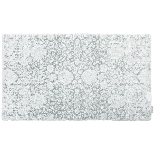 Abyss & Habidecor Liberty Bath Mat - 900 - 60x100cm (€170) ❤ liked on Polyvore featuring home, bed & bath, bath, bath rugs, grey, gray bath mat, grey bath mat, grey bathroom rugs, gray bathroom rugs and floral bath mat