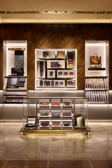 ♂ Commercial space retail store interior design Berluti Osaka 2012 Umeda Hankyu, Osaka, Japan New concept as a lifestyle shop including men's apparel