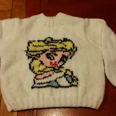 Pull fille 2 ans tricoter main