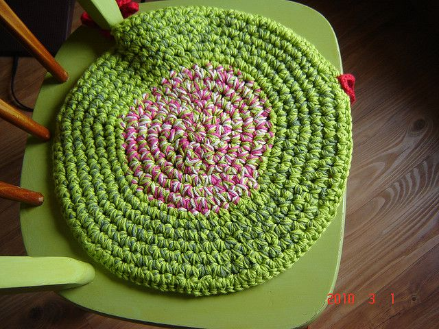 Thecrampedhand 39 S Granny Chair Pad Chairs Chair Pads And
