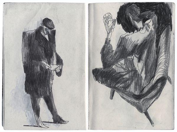 Artem Krepkij...scanned sketchbook