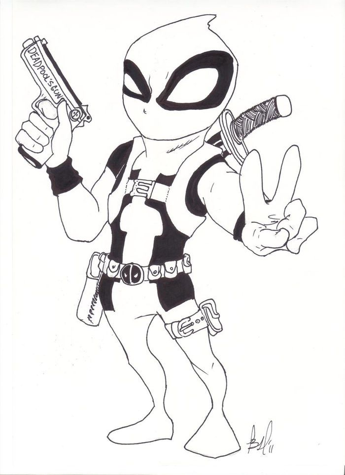 Color Your Own Deadpool Coloring Pages Inside Page Number 40 Cute Coloring Pages Coloring Pages Spiderman Coloring