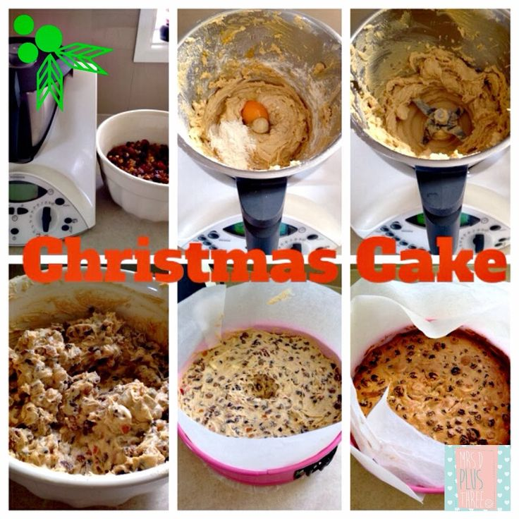 Nigella Lawson's Christmas cake recipe in the thermomix