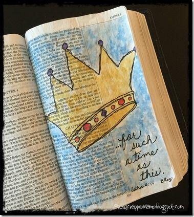 Bible Art Esther 4-14