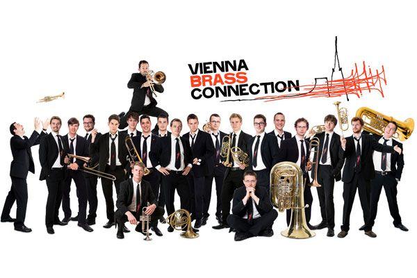 Vienna Brass Connection (Foto © Zopf Fotography) Geballte Power am 13.11.2016 auf der #klangBilder|16