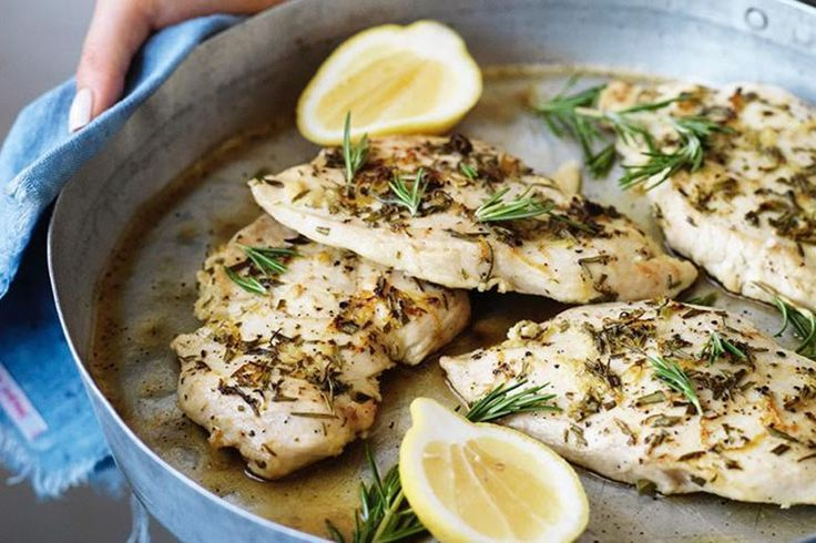 Lemon and Herb Chicken   Jessica Sepel