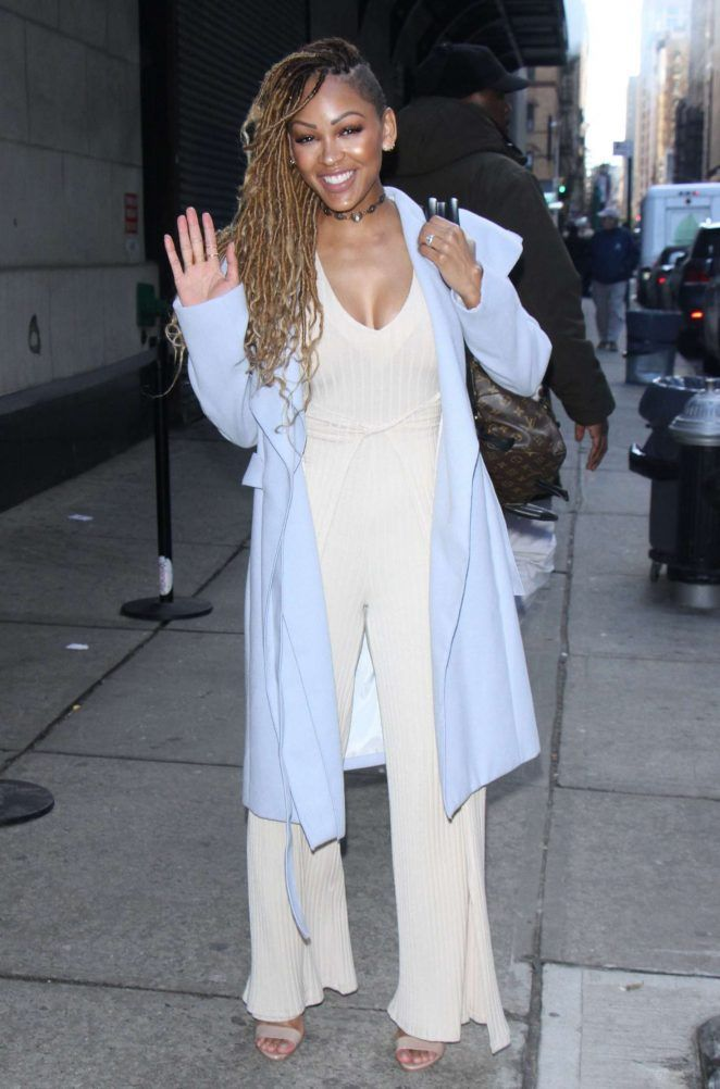 Meagan Good at 'The Wendy Williams Show' in New York