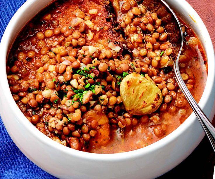 Zuppa di lenticchie Scopri di più su www.lacucinaitaliana.it