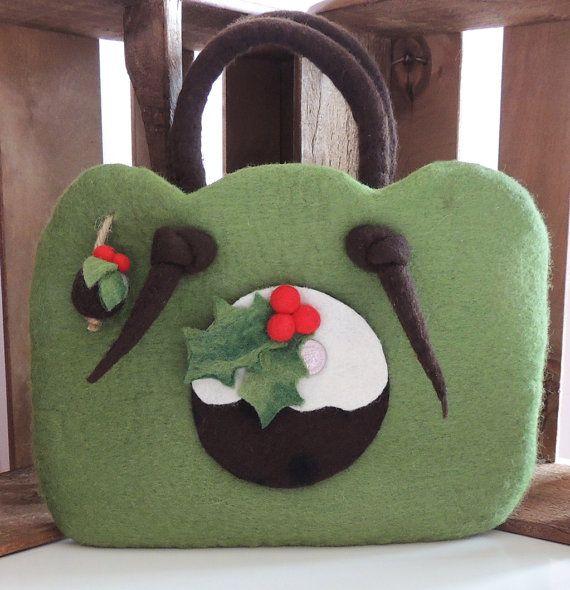 Felt Bag Making Kit by TigerlilyMakes on Etsy, £5.00