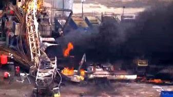 Emergency official: 5 missing after Oklahoma rig explosion - WPXI Pittsburgh