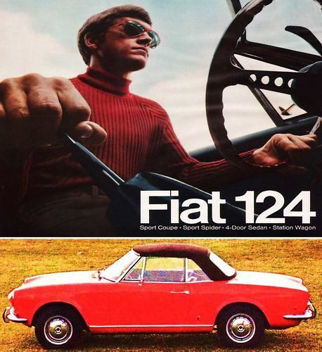 77 Best Fiat 124 And 124 Spider Images On Pinterest