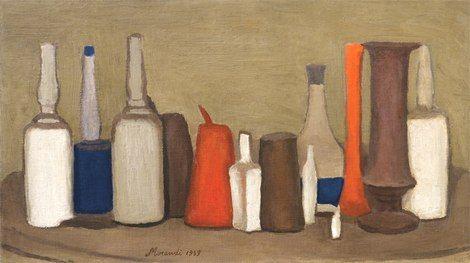 Giorgio Morandi, Natura morta 1939 on ArtStack #giorgio-morandi #art
