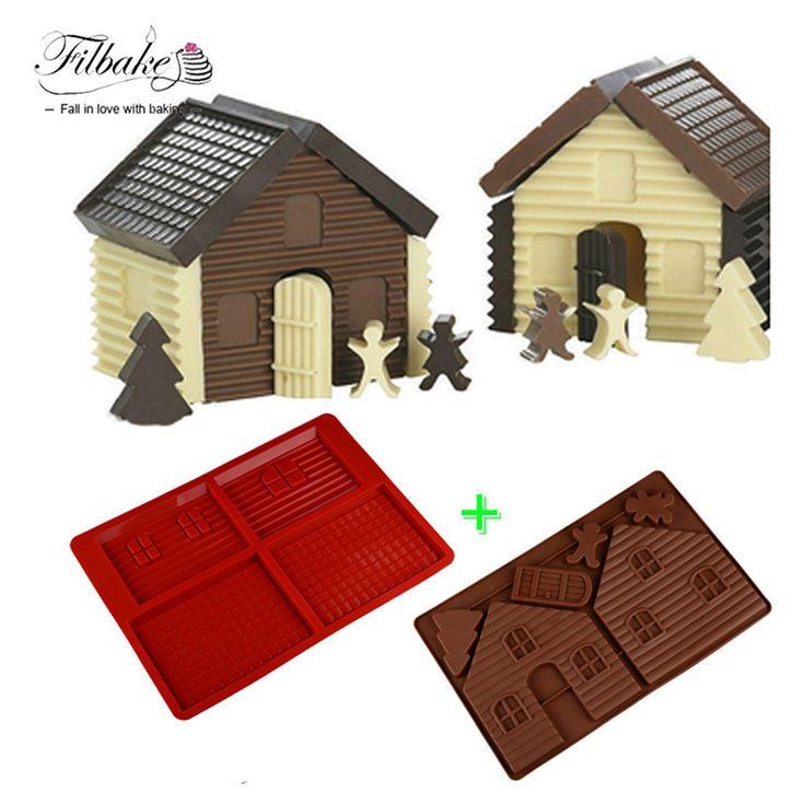 Ucuz Pişirme araçları diy 3d noel zencefilli ev yapmak için set 2 adet silikon kalıp çikolata kek kalıbı bisküvi kek dekorasyon, Satın Kalite   doğrudan Çin Tedarikçilerden:      açıklama:  malzeme: Silikon  renk:renk rastgele  BOYUTU  34*21.7*1.3 cm  34*21.7*1.3 cm  paket Şunlardır:  evi Set