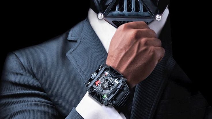 Devon $28 500.00 Montre Star Wars Dark Vador