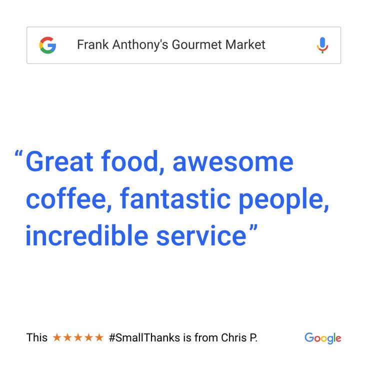 Our Commitment to Customer Satisfaction   Order Online, Visit or Call - www.frankanthonysmarket.com  #Boston #Seaport #BostonSeaport #Fanpier #Catering #Caterer #Seaportdistrict #Food #Vegan #Vegetarian #FoodPorn #Breakfast #Lunch #Dinner #italian